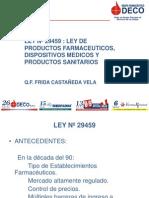 Ley de productos farmacéuticos 1