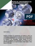 HISTORIA Y PRINCIPIO DE FUNCIONAMIENTO MOTOR ELÉCTRICOS 1