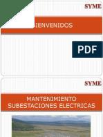 MANTTO. SUBESTACIONES ELECTRICAS  11-11-12