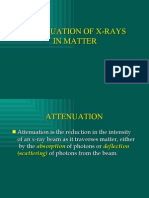 X-Ray Attenuation