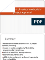 Assessment of various methods in project appraisal.pptx
