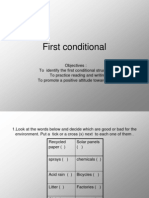 My First Conditional Ppt