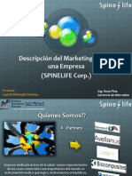 Marketing Mix SpineLife