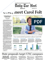 The Daily Tar Heel for April 15, 2013