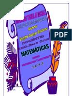 Portafolio de Matematcas