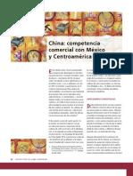 U1-China competencia comercial con Mèxico y Centroamerica