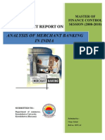 31189944 Merchant Banking in India Project Finance