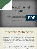 1 Motivación en el Trabajo