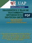 Diagnostico en Denticion Decidua