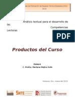 Productos Analisis Textual