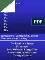 Lesson 3 Matter Energy