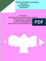 "Bahan Kreativitas Sekolah Minggu 5 Mei 2013 PIA Kumetiran ""Roh Kudus"""