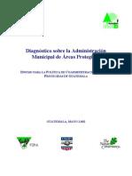 (6) Diagnóstico Admon Municipal de Áreas Protegidas
