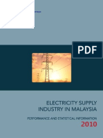 ELECTRICITY SUPPLY INDUSTRY IN MALAYSIA 2010