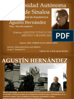 Agustin Hernandez Vida y Obra Del Arquitecto Jueves
