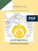 Laporan RLab OR01 - Pengukuran panjang Gelombang Laser - Dimas Arif Fadilah 1206217181