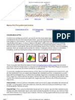 Marine Fire Prevention and Control - BoatSafe