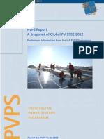PVPS Trends Snapshot 2012