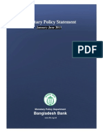 Monitory policy of Bangladesh
