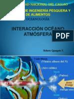 Interacción océano atmósfera