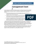PM Best Practices