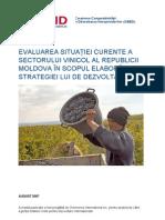 Sectorul Vitivinicol Moldova