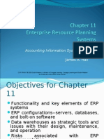 JAMES A. HALL - Accounting Information System Chapter 11