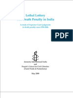 Death Penalty India