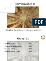 Presentation on Supplier Diversity as a Business Practice