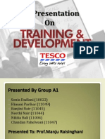 Training and Development at TESCO