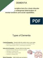 Dementias PSY 350 Spr 09 97 03
