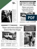 Versión impresa del periódico El mexiquense 15 abril 2013