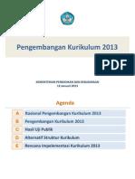 Laporan Pengembangan Kurikulum 2013