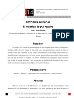 I.C.Martín-Retórica musical (madrigal Io pur respiro)