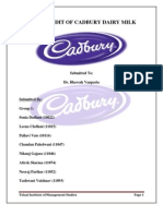 Brand Audit of Cadbury