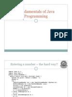 Java Funda Part-I