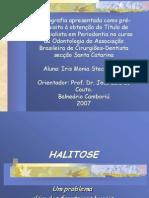 halitose apresentaçao