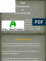 Presentation on SAL Steel Ltd