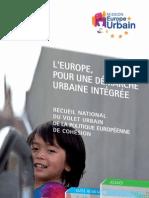 L'Europe, pour une démarche urbaine intégrée