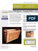 Magazine Rack Tutorial