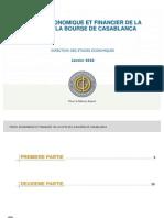 Fr Cdg Profil Economique Financier de La Cote de La Bourse de Casablanca