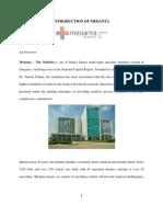 Medanta Introduction of Medanta