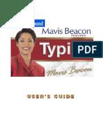 Mavis Type Ver. 17 User's Guide