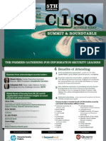 5th CISO Middle East Summit Feb 13 W