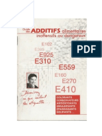 Guide Des Additifs Alimentaires Inoffensif Ou Dangereux