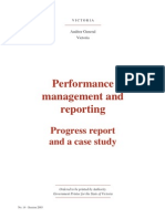 20030430 Report on Performance Management and Reporting a Case Study
