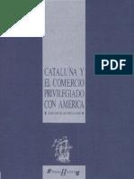 Cataluña y el comercio privilegiado con América