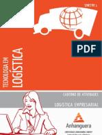 Cead 20131 Logistica Pr - Tecnologia Em Logistica - Logistica Empresarial - Nr (a2ead189) Caderno de Atividades Impressao Tlg3 Logistica Empresarial