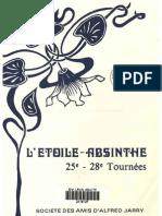 Alfred Jarry, L'Étoile-Absinthe