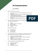 Communications VFR 1